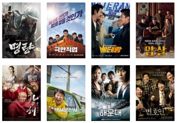 ▲컴퍼니케이가 투자한 영화들(출처=당사 홈페이지)