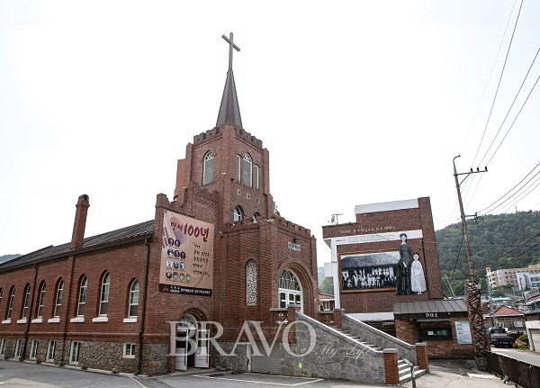 ▲독립운동의 현장인 공주제일교회(김혜영 여행작가)