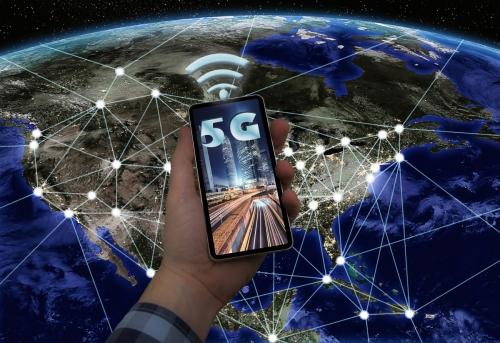▲미국 우주항공국(NASA)이 제작한 5G 조감도. 출처 게티이미지