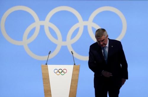 ▲토마스 바흐 IOC 위원장. 신화연합뉴스