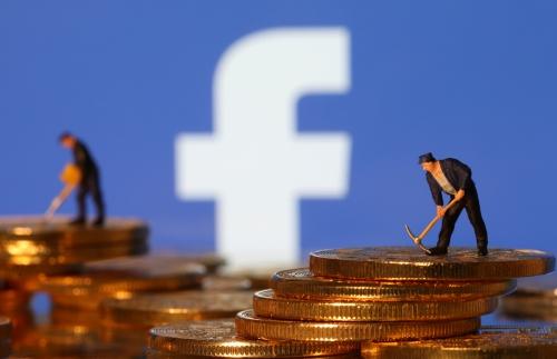 ▲18일 세계 최대 소셜미디어 페이스북이 내년에 자체 개발 가상화폐 '리브라'를 출시하겠다고 발표했다. 로이터연합뉴스