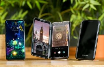 ▲LG전자의 5G 스마트폰 'LG V50 씽큐' (사진제공=LG전자 )