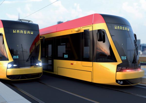 ▲현대로템 바르샤바 트램 조감도(사진제공=현대로템)