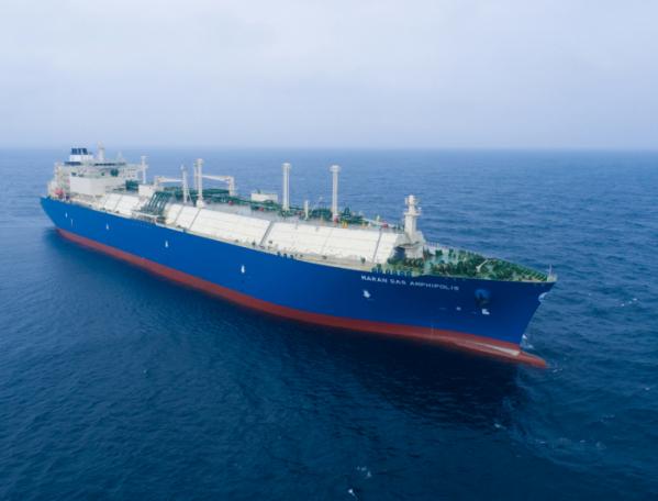 ▲대우조선해양 LNG 운반선(사진제공=대우조선해양)