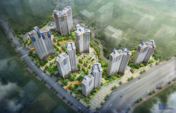 ▲길음5구역 재개발사업 조감도(사진=서울시 재개발·재건축 클린업 시스템)