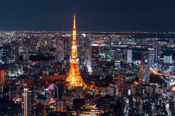 ▲일본 도쿄타워 전경(게티이미지)