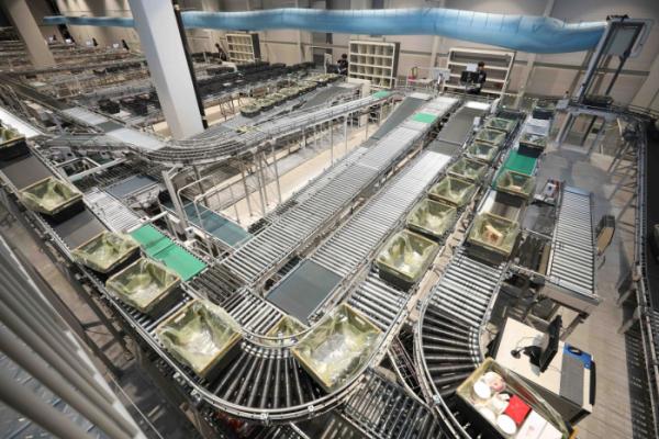 ▲김포 고촌에 위치한 SSG닷컴의 네오2(NE.O 002) 센터.(이마트 제공)