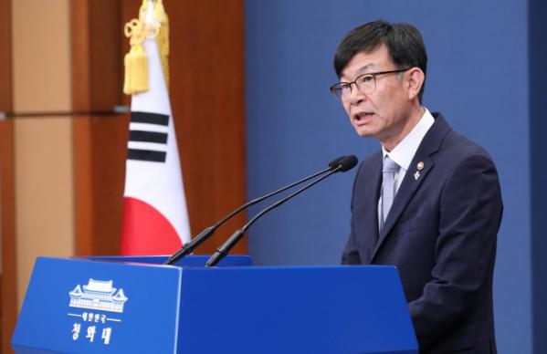 ▲김상조 신임 청와대 정책실장.(연합뉴스)