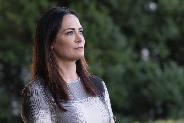 ▲스테파니 그리샴 새 백악관 대변인. 블룸버그