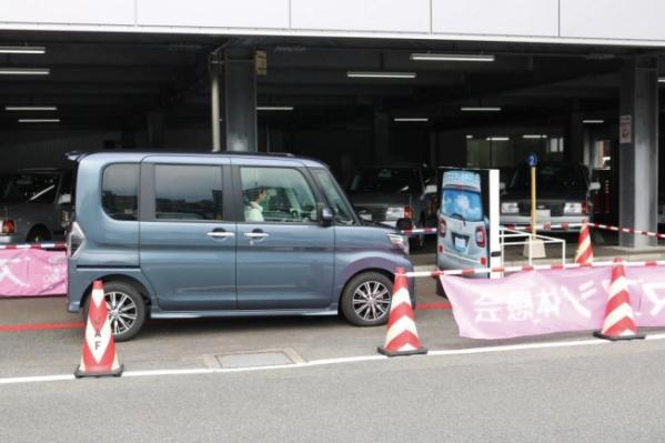 ▲다이하쓰와 일본자동차연맹이 진행하는 고령운전자 교육 모습.(일본자동차연맹(JAF))