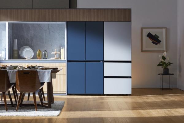 ▲삼성전자 비스포크(BESPOKE) 냉장고. 사진제공 삼성전자