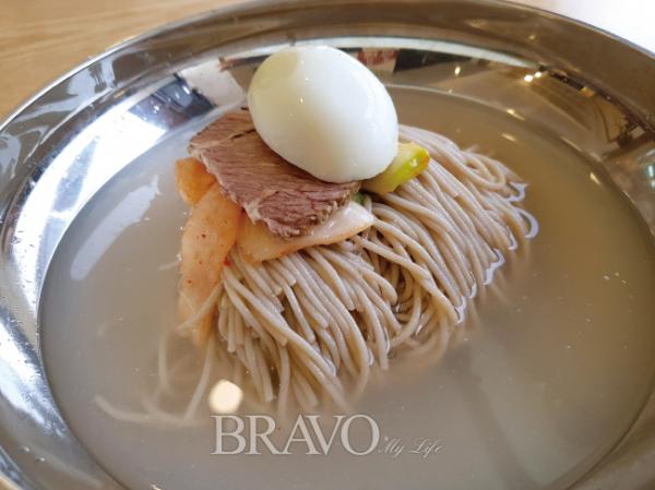 ▲메밀 100% 평양냉면(황광해 맛 칼럼니스트)
