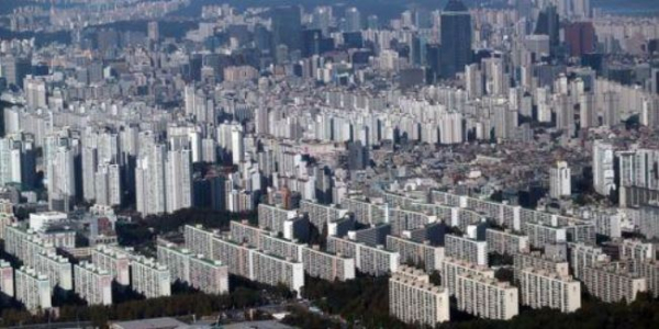 ▲서울 강남구 대치동 일대 아파트 밀집지역 전경.(연합뉴스)