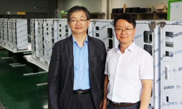 ▲박수훈 박사(왼쪽)와 김현승 대표.