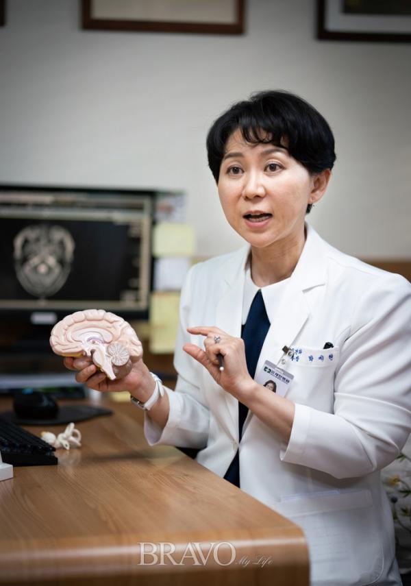 ▲신경과 전문의 박지현 세란병원 진료부장(사진 이준호 기자)