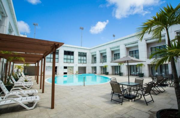 ▲미국 괌 '로얄오키드 괌 호텔'