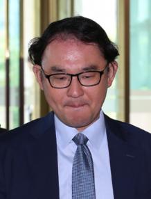 ▲니시나가 도모후미 주한일본대사관 경제공사