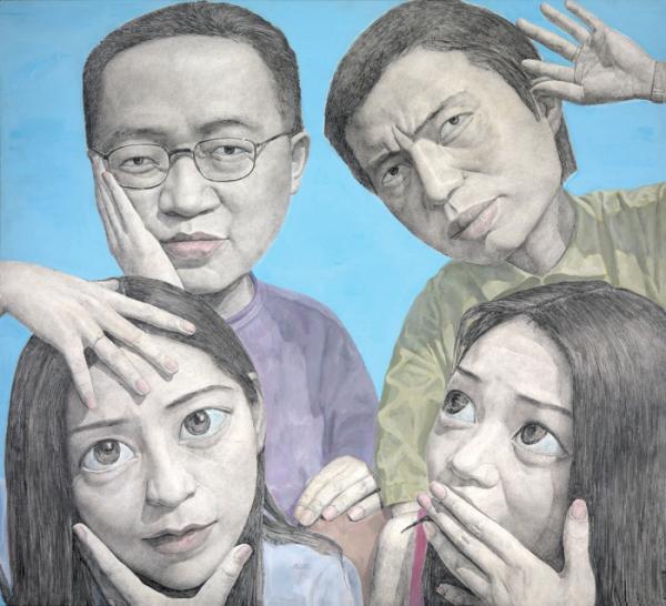 ▲코디스에 걸려 있는 작품들 중 가장 기억에 남는 흔해주(xin haizhou)의 그림.(사진제공=홍콩관광청)