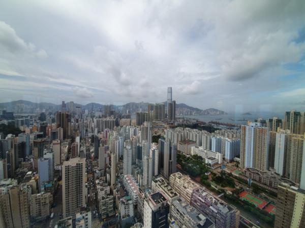 ▲코디스 호텔 42층에서는 몽콕의 전체를 한눈에 볼 수 있다. (홍콩=김소희 기자 ksh@)
