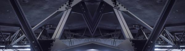▲김광수, 여기에서 여기를, 2채널 비디오, 2019, CCTV, 반구형 반사경, LED 바, 가변설치