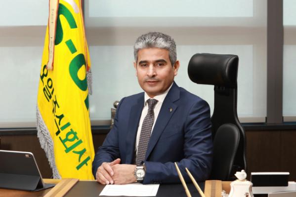 ▲후세인 알 카타니 에쓰오일(S-OIL) 최고경영자(CEO)