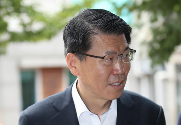 ▲은성수 금융위원장 후보자(연합뉴스)