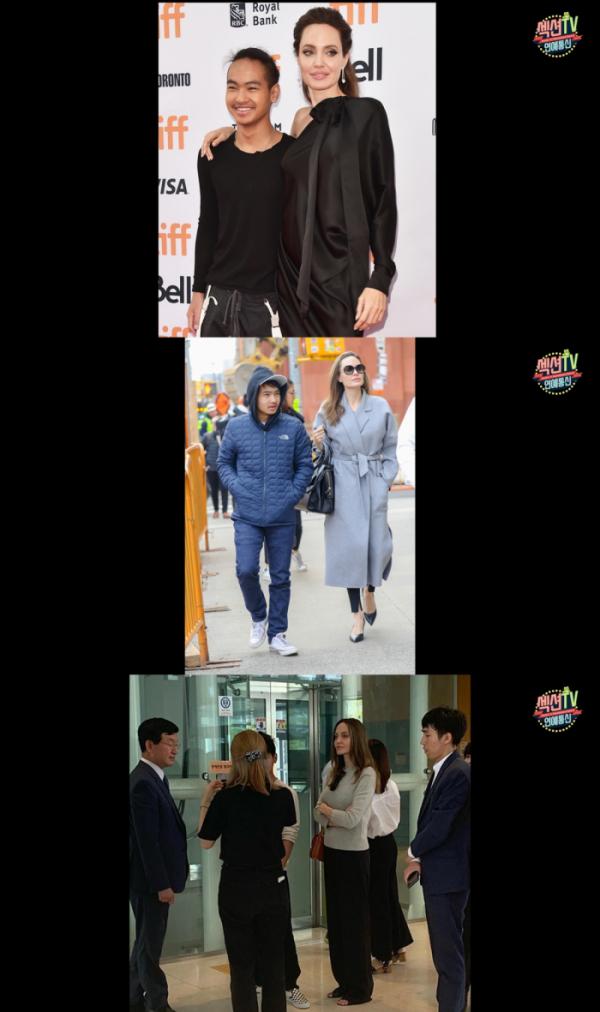 ▲'섹션TV 연예통신'이 배우 안젤리나 졸리의 근황을 전한다.(사진제공=MBC)