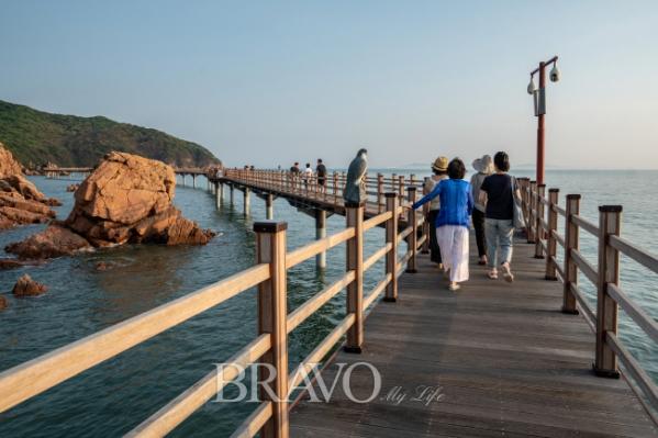 ▲하나개 해안관광탐방로 (김혜영 여행작가)