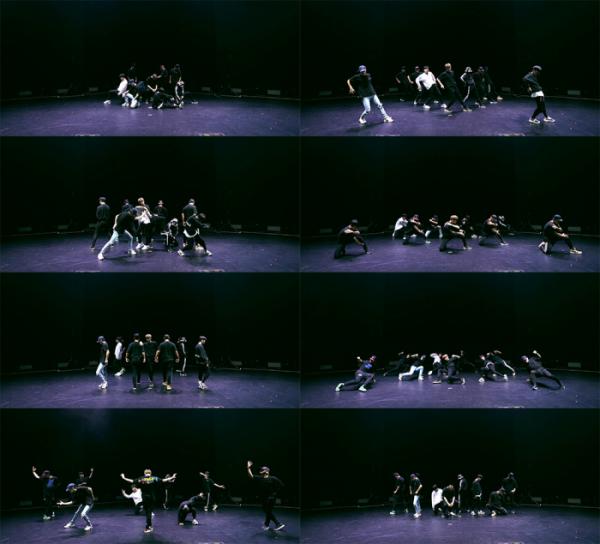 ▲강다니엘 'Horizon' 안무 연습 영상 공개(사진제공=커넥트엔터테인먼트)