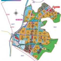 ▲2차 공공지원 사회임대주택사업 공모 대상인 위례신도시 위치도.(자료 제공=LH)