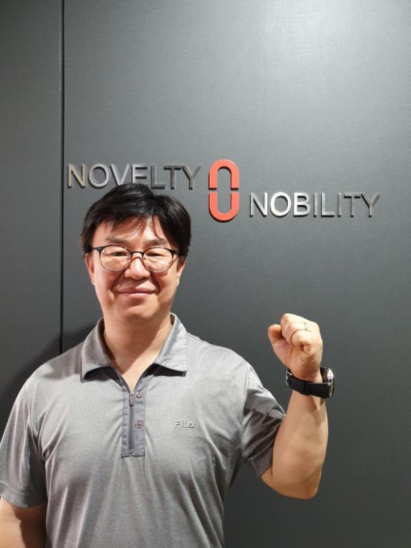 ▲Park Sang Gyu, CEO of Novelty Nobility.