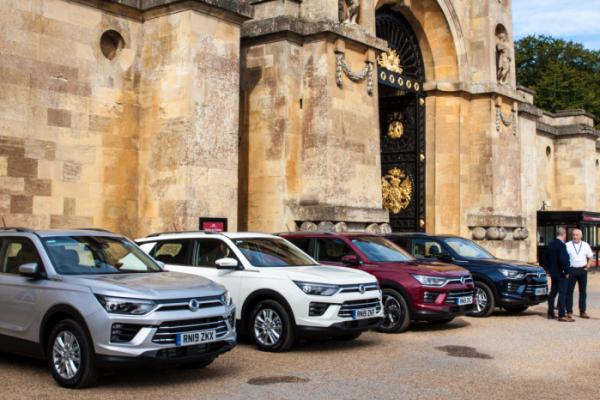 ▲쌍용자동차가 영국에서 코란도 디젤 모델 공개 행사를 열고 본격적인 유럽시장 판매에 돌입했다. (사진제공=쌍용차)