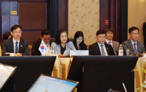 ▲9일 태국 방콕에서 열린 한-아세안 경제장관회의(사진 제공=산업통상자원부)
