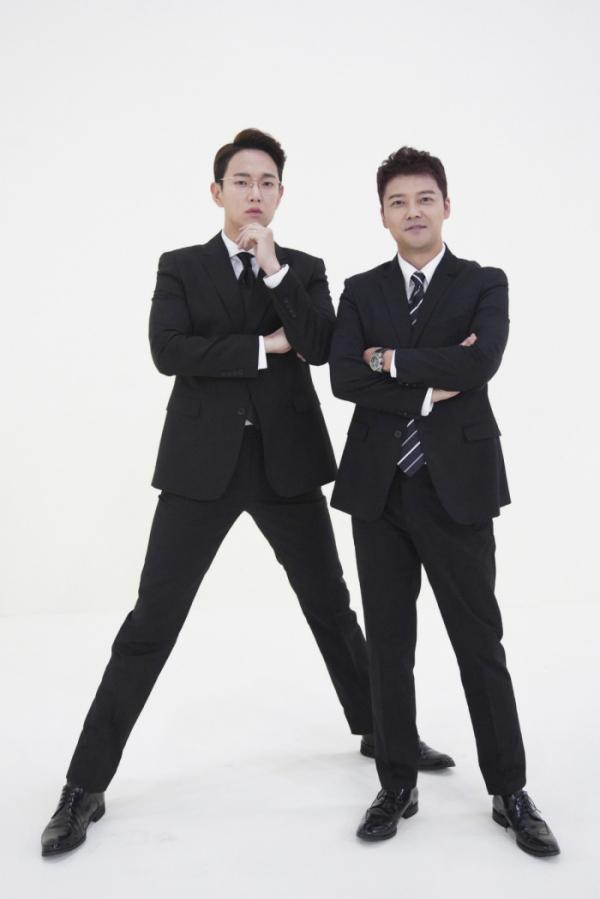 ▲'막나가쇼' 장성규-전현무(사진제공=JTBC)