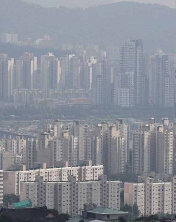▲서울 아파트 밀집촌 모습.