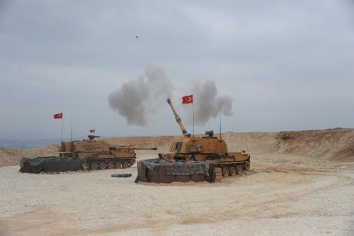 ▲9일(현지시간) 터키군이 시리아 북동부 국경도시에 대한 지상작전을 개시했다. 시리아/신화연합뉴스