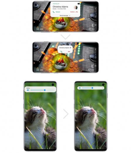 ▲삼성의 새로워진 스마트폰 UI인 '원 UI'  (출처=삼성전자 뉴스룸)