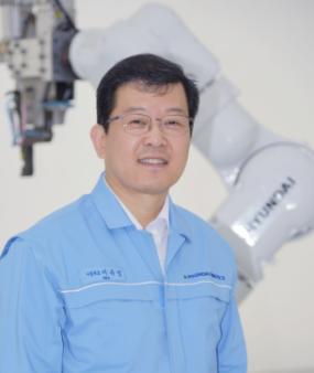 ▲서유성 현대중공업지주 로봇사업 대표