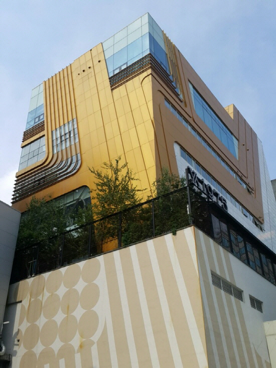 ▲서울 강남구 청담동 미라클 빌딩.(사진 제공=지지옥션)