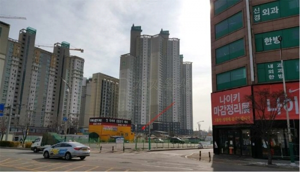▲인천 남동구 논현동 66-24 논현유호엔씨티1단지 101동.(사진제공=지지옥션)