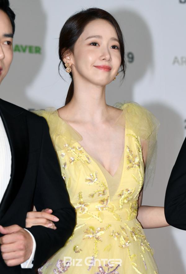 ▲제24회 부산국제영화제 개막식에 참가한 배우 임윤아(비즈엔터DB)