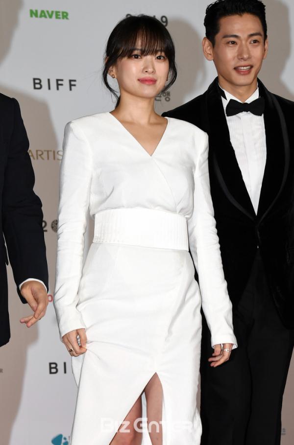 ▲제24회 부산국제영화제 개막식에 참가한 배우 천우희(비즈엔터DB)