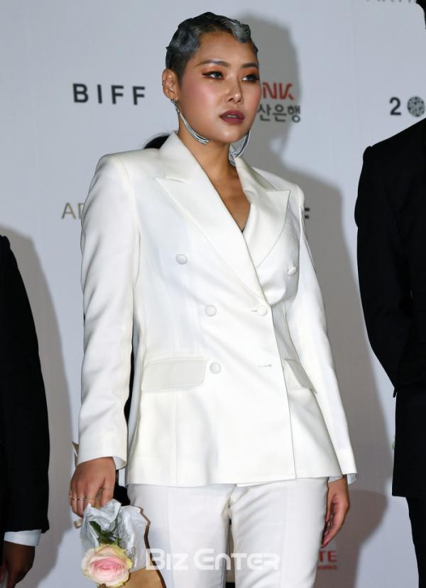 ▲제24회 부산국제영화제 개막식에 참가한 치타(김은영)(비즈엔터DB)