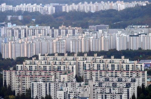 ▲서울 강남 일대 들어선 아파트 단지들 전경.(사진 제공=이투데이DB)