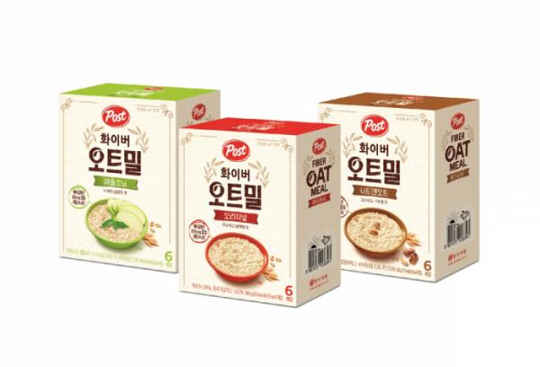 ▲동서식품은 10일 '포스트 화이버 오트밀' 3종을 출시했다고 밝혔다. (사진제공=동서식품)