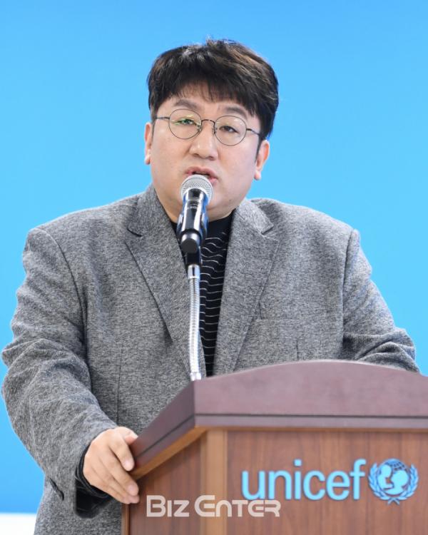 ▲방시혁 대표(비즈엔터DB)