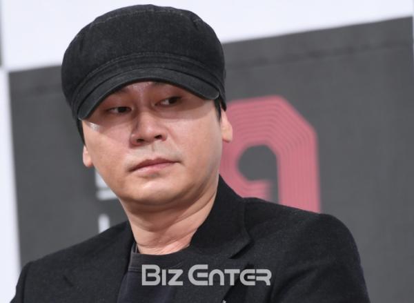 ▲양현석 YG 전 대표 프로듀서(비즈엔터DB)