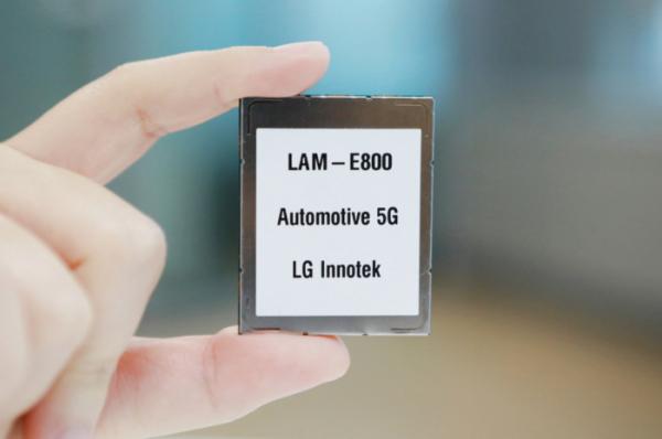 ▲ LG이노텍이 개발한 '차량용 5G 통신모듈' (사진제공=LG이노텍)