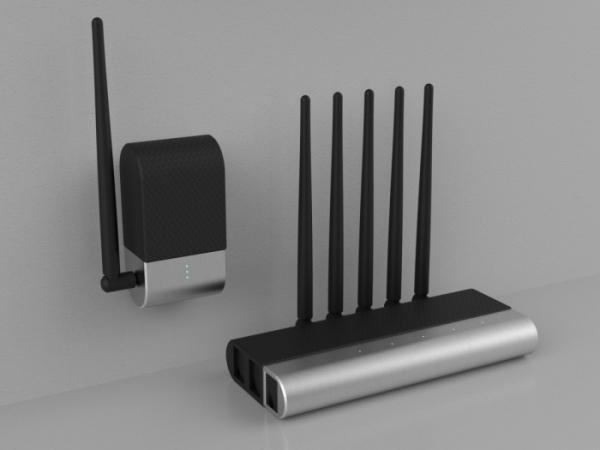 ▲제닉스 스튜디오 젠서(xensor)의 센서(sensor)와 게이트웨이(gateway). (제닉스 스튜디오 제공)