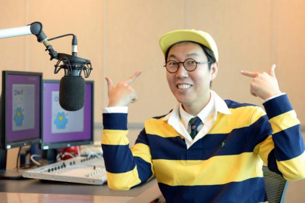 ▲'김영철의 파워FM' 김영철(사진제공=SBS)